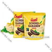 Casali Banánky v čokoládě Mini 125g
