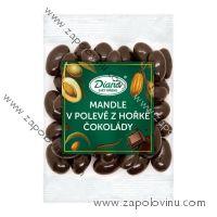 Mandle v polevě z hořké čokolády 100g