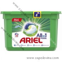 Ariel Mountain Spring gelové kapsle 14 PD