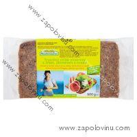 Mestemacher Trvanlivý chléb vícezrnný s žitem, ječmenem a ovsem 500g