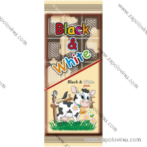 Chocomoco BLACK+WHITE POCHOUTKA 80g