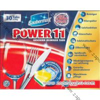 SAUBERMAX POWER 11 TABLETY DO MYČKY 30 KS