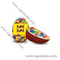 BON BON Čokoládové vajíčko s lentilky 30g