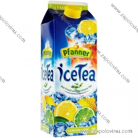 Pfanner Ledový čaj citron a limetka 2 l