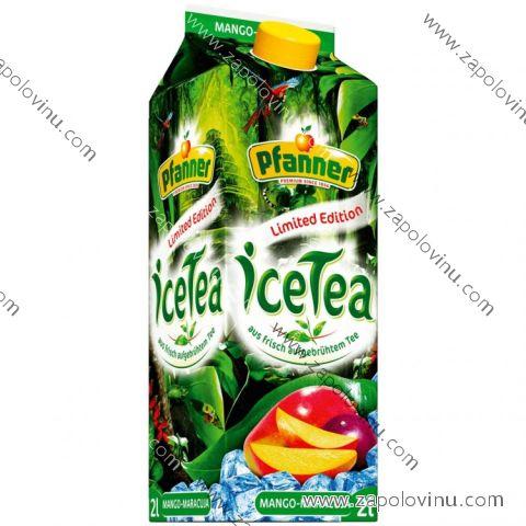 Pfanner Ledový čaj mango a maracuja 2 l
