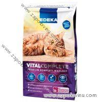 Edeka kompletní krmivo pro dospělé kočky Premium s drůbežím masem 750 g