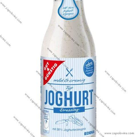 G+G jogurtový dresink 500ml