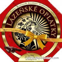 Lázeňské oplatky čokoládové 175g