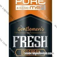 Pure + Basic Men Fresh Deo spray 200ml