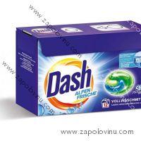 Dash Alpen Frische kapsle na praní 12 ks