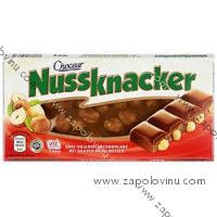 Chateau Nussknacker mléčná čokoláda s lískovými ořechy 100g