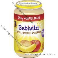 Bebivita jablko banán suchary 250g