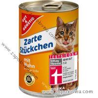 G+G Kuřecí v omáčce konzerva pro kočky 415 g